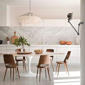 Home Brands Chair Crazy Replica Eero Saarinen Oval Tulip Dining Table