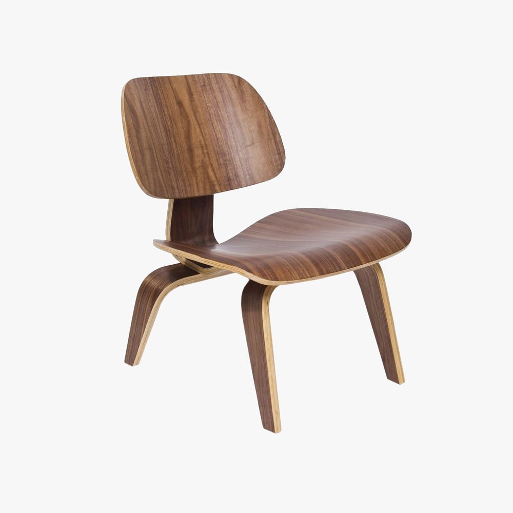 Replica eames walnut side chair u3 shop for Side chair replica