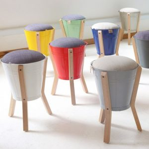 Bucket Stools Pedersen and Lennard