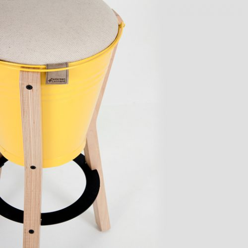Bucket Bar Stool 1