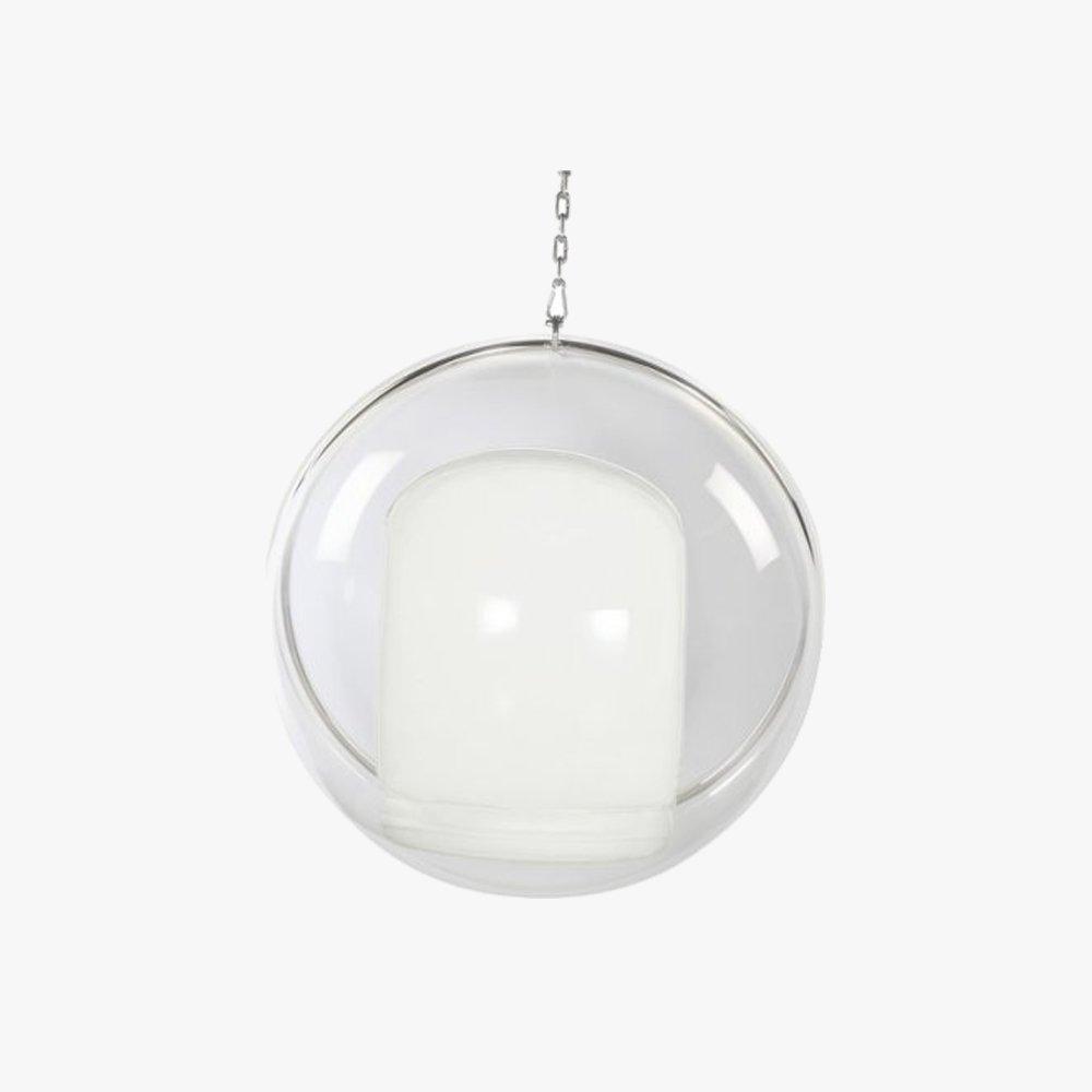 eero aarnio hanging bubble chair