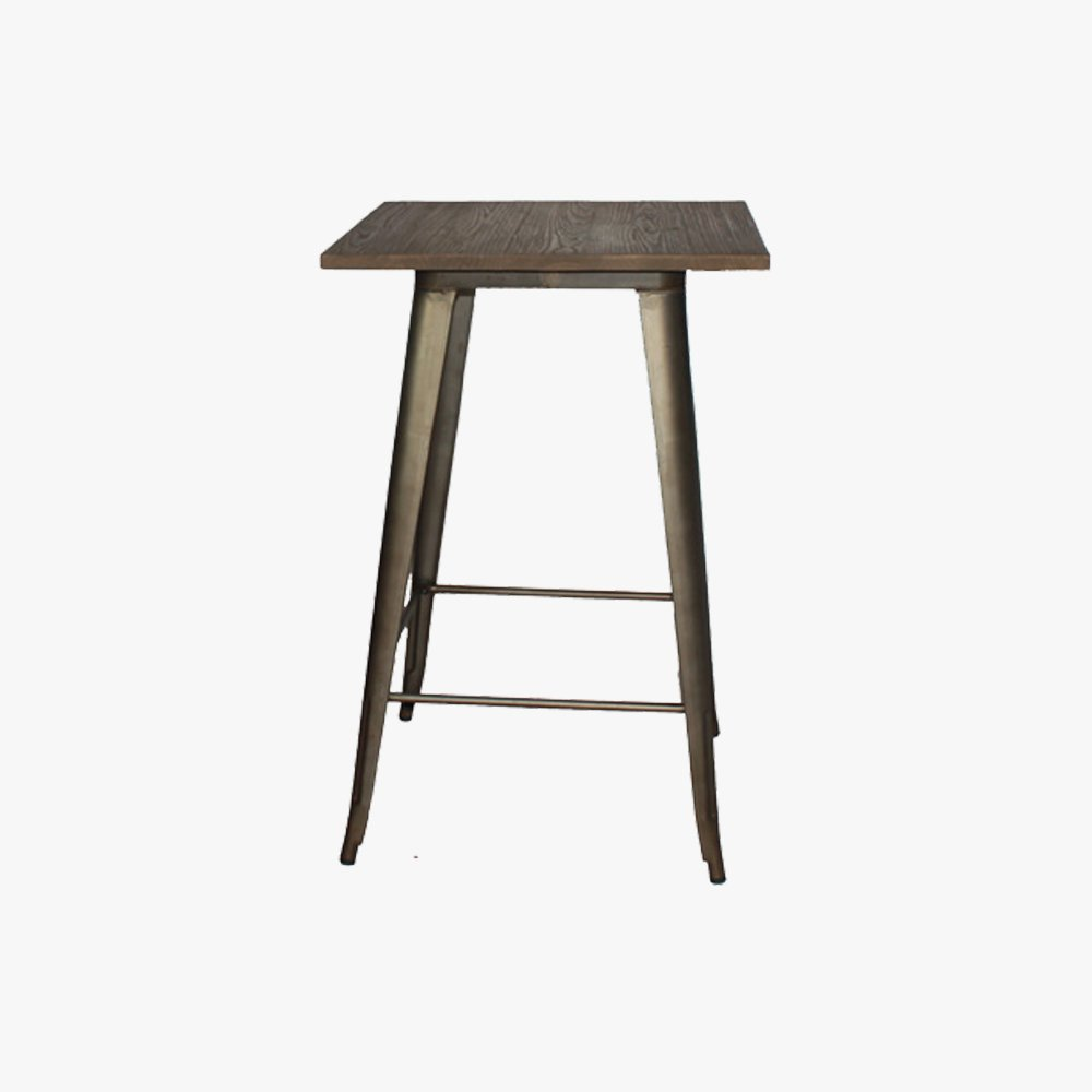 replica tolix cocktail table with timber top u3 shop